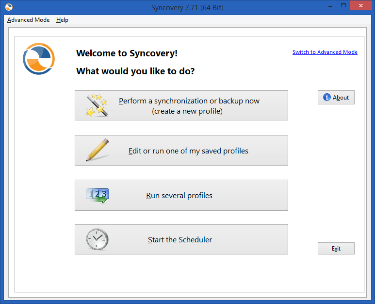 Download Syncovery Pro Enterprise Portable 7.5 Free
