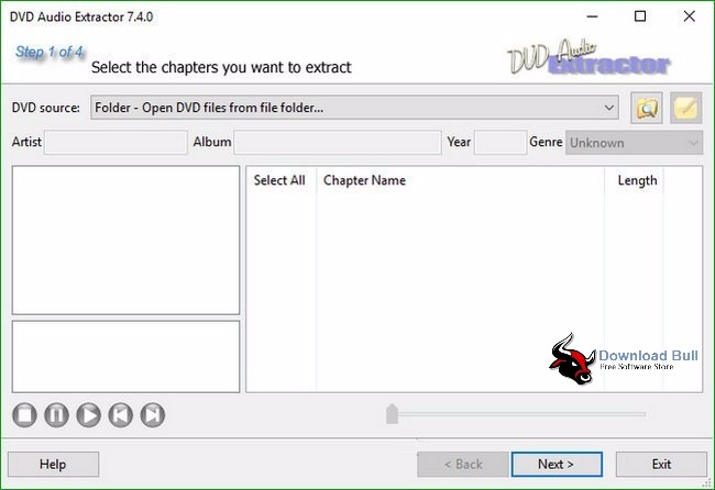 Download DVD Audio Extractor Portable 7.5.0 Free