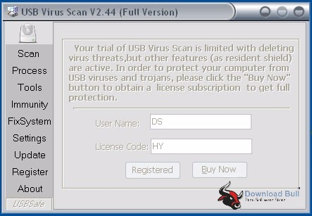 USB Virus Scan 2.44 Portable Review