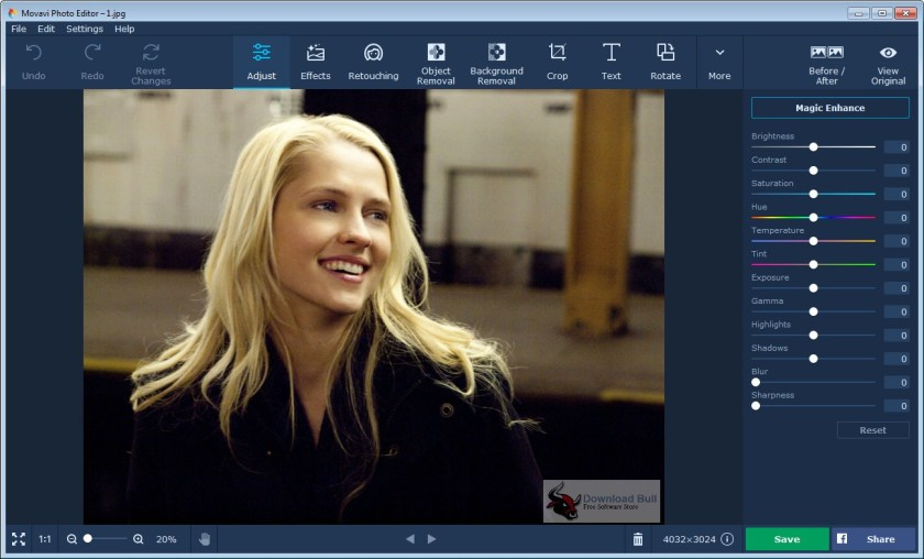 Portable Movavi Photo Editor 5.0 Overview