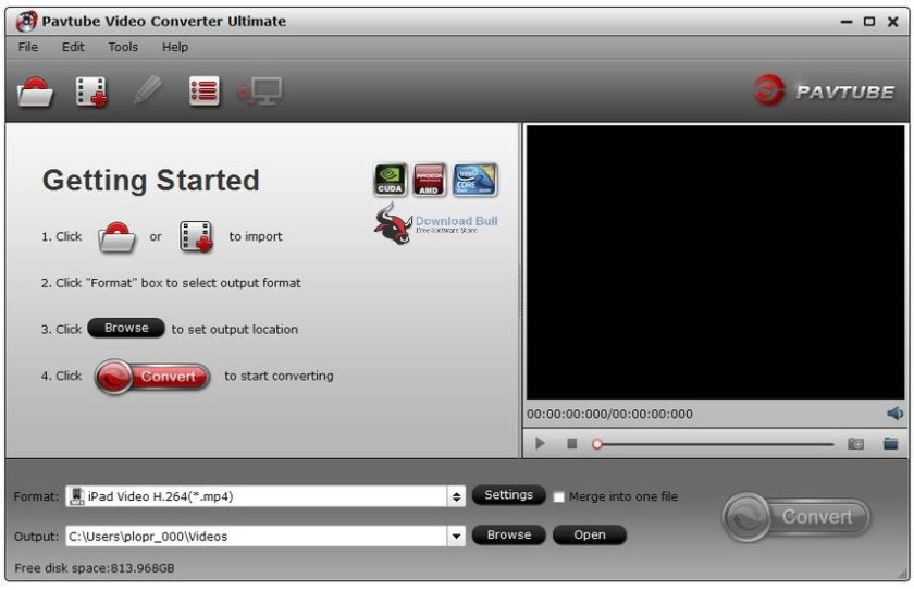 Portable Pavtube Video Converter Ultimate 4.9 Overview