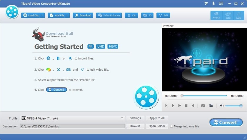 Portable Tipard Video Converter Ultimate 9.2 Review