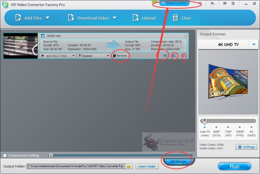 Download videos with WonderFox HD Video Converter Factory Pro