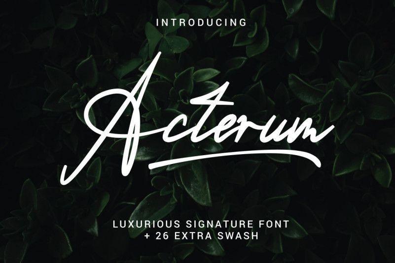 acterum-font