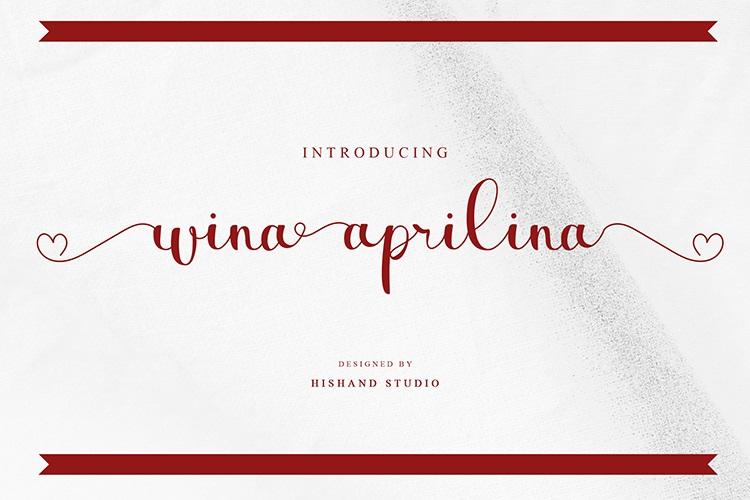 Wina-aprilina-Font