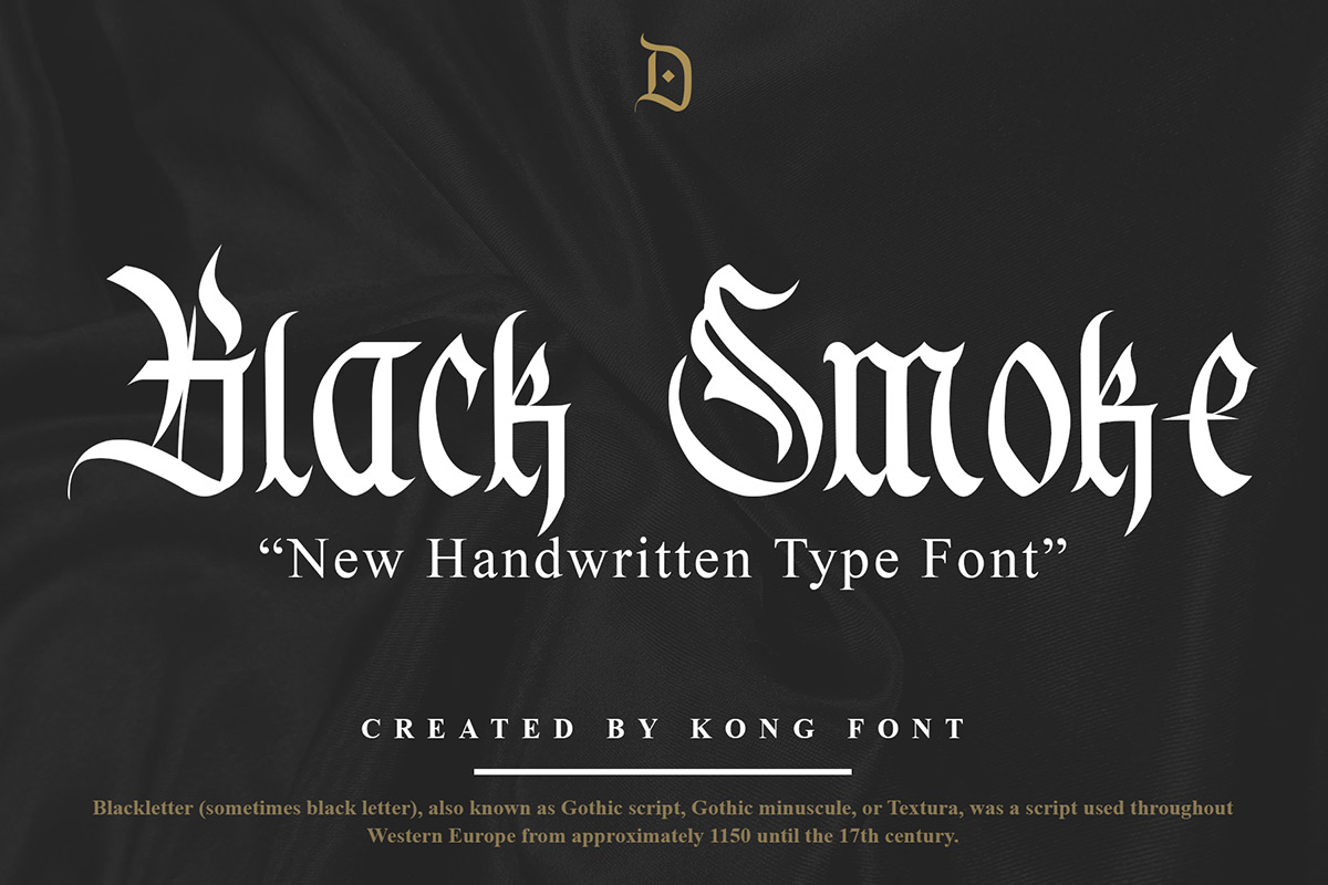 Black-Smoke-Font
