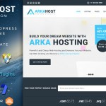 Arka Host v5.1.3 – WHMCS Hosting, Shop & Corporate Theme Nulled Free
