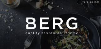 BERG v3.1.8 - Restaurant WordPress Theme Nulled Free