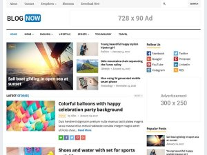 BlogNow v1.0 - WordPress Blog Theme