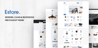 Estore v1.0 - Responsive Opencart Theme Nulled Free