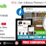REHub v6.8.5 – Price Comparison, Business Community, Multi Vendor, Directory Theme Nulled Free