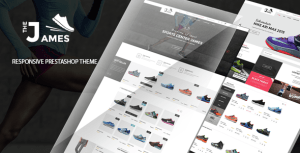 James v1.0 - Responsive Prestashop Shoes Store Theme