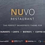 NUVO v6.0.0 – Cafe & Restaurant WordPress Theme Nulled Free