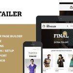 The Retailer v2.5.5 – Premium WordPress eCommerce Theme Nulled