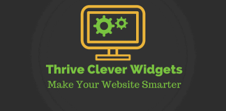 Thrive Clever Widgets v1.27 - Show Relevant WordPress Widgets