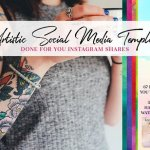 67 Artistic Social Media Pack CreativeMarket 1126545