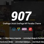 907 v4.0.21 – Responsive Multi-Purpose WordPress Theme Nulled Free