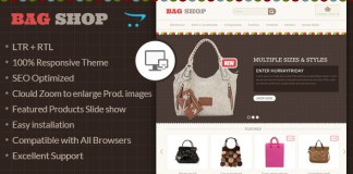 Download Bag Shop - OpenCart Responsive Theme | Themeforest