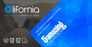 California v1.8.0 - Multipurpose WordPress Theme Nulled