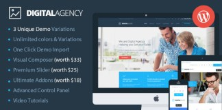 Digital Agency v2.1.3 - SEO / Marketing WordPress Theme