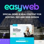 EasyWeb v2.1.6 – WP Theme For Hosting, SEO and Web-design Agencies Nulled Free