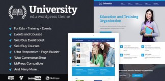 University v2.0.19 - Education, Event and Course Theme Nulled Free