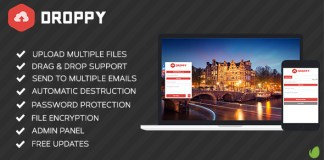 Droppy v1.1 - Online file sharing | PHP Scripts