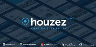 Houzez v1.5.4.2 - Real Estate WordPress Theme Nulled