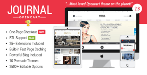 Journal v2.9.4 - Advanced Opencart Theme Free