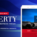 Liberty v1.2 – Your Political WordPress Theme Nulled Free