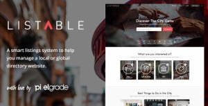 LISTABLE v1.8.2 – A Friendly Directory WordPress Theme | Themeforest