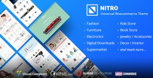Nitro v1.3.3 - Universal WooCommerce Theme Nulled 100% | Themeforest