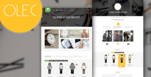 Download Olec Watches Shop v1.0 - Responsive Magento Theme | Themeforest