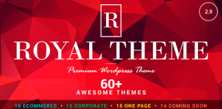 Royal v2.9 - Multi-Purpose Wordpress Theme Nulled Free