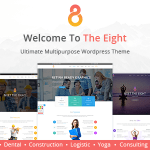 The8 v1.0.7 – Corporate, Business WordPress theme Nulled