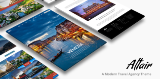 Tour Travel Agency v3.6 - Altair Theme Nulled Free