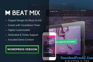 Beatmix v1.1.2 Music and Band WordPress Theme | Creativemarket