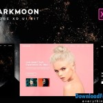 Dark moon UI Kit. UX/UI Design 1311499 | Creativemarket