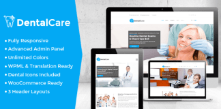 Dental Care v2.9 - Dental & Medical WordPress Theme | Themeforest