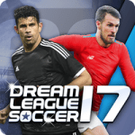 Dream League Soccer 2017-2018 v4.04 APK Android + MOD Hacked unlimited money