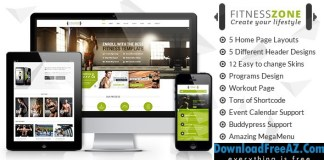 Fitness Zone v2.7 | Gym & Fitness Theme, perfect fit for fitness centers and Gyms