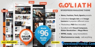 GOLIATH v1.0.33 - Ads Optimized News & Reviews Magazine | Themeforest