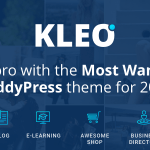 KLEO v4.2.2 – Pro Community Focused, Multi-Purpose BuddyPress Theme