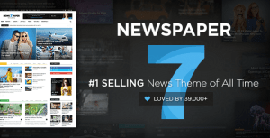 Newspaper v7.8.1 – WordPress News Theme