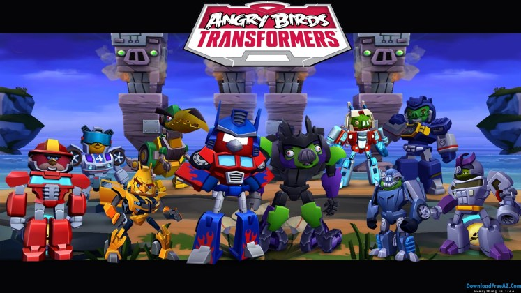 Angry Birds Transformers v1.27.2 APK (MOD, Crystal/Unlocked) Android Free