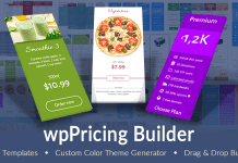 Download WP Pricing Table Builder v1.4.8