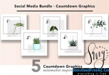 Social Media Bundle - Countdown 1286558 | Creativemarket