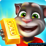 Talking Tom Gold Run v1.8.2.1069 APK (MOD, unlimited money) Android Free