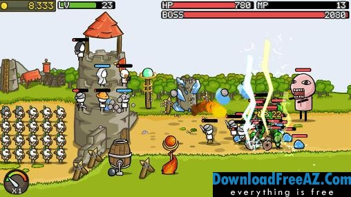 Grow Castle v1.18.5 APK + MOD (Unlimited Coins) Android Free
