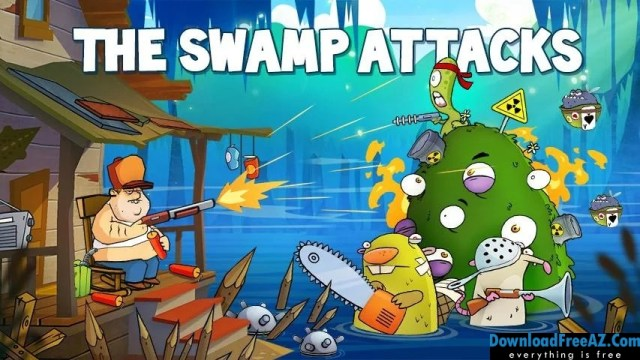 Swamp Attack v2.2.0 APK MOD (Money/Energy) Android Free